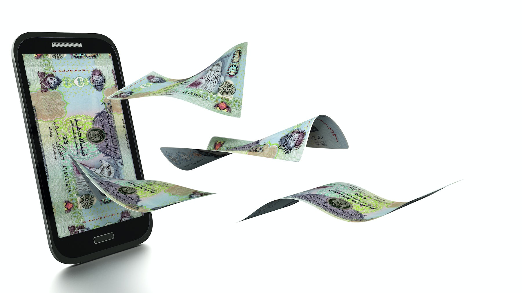 3D Rendered UAE Dirham | Source: Shutterstock