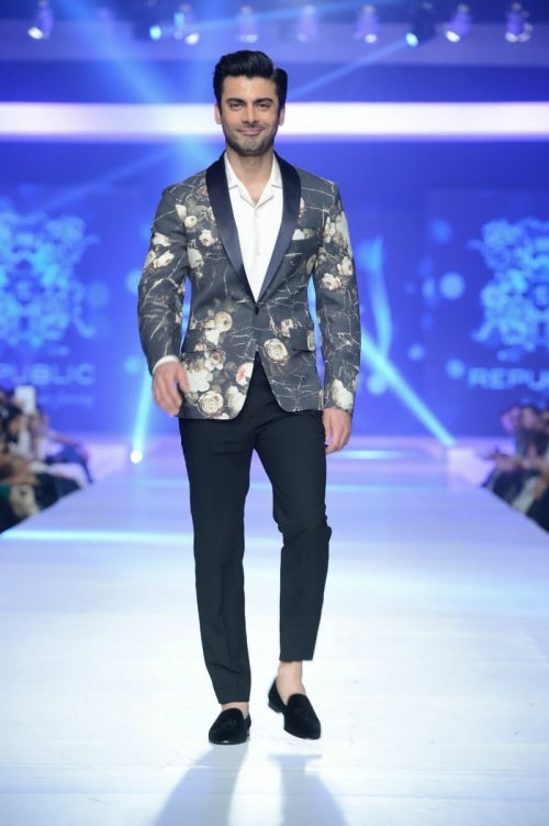 Fawad Khan walks the Republic show in Lahore | Source: Courtesy