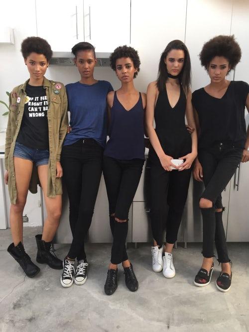 Models signed with Ossygeno in Santo Domingo Dominican Republic --Lineisy Montero, Ysaunny Brito, Amelia Rami, Mily Reuter, Chanel de León | Photo: Sandro Guzmán