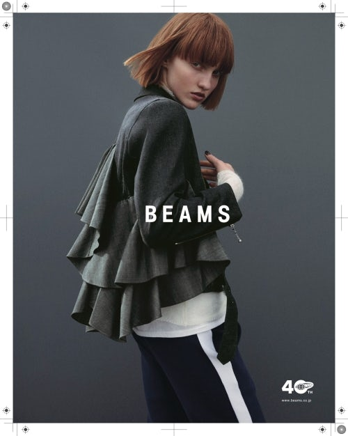 b8cce939d82 Styling by Yoko Irie for Japanese retailer Beams