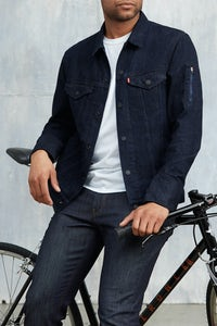 Levi's Commuter Trucker jacket with Jacquard by Google | Source: Courtesy