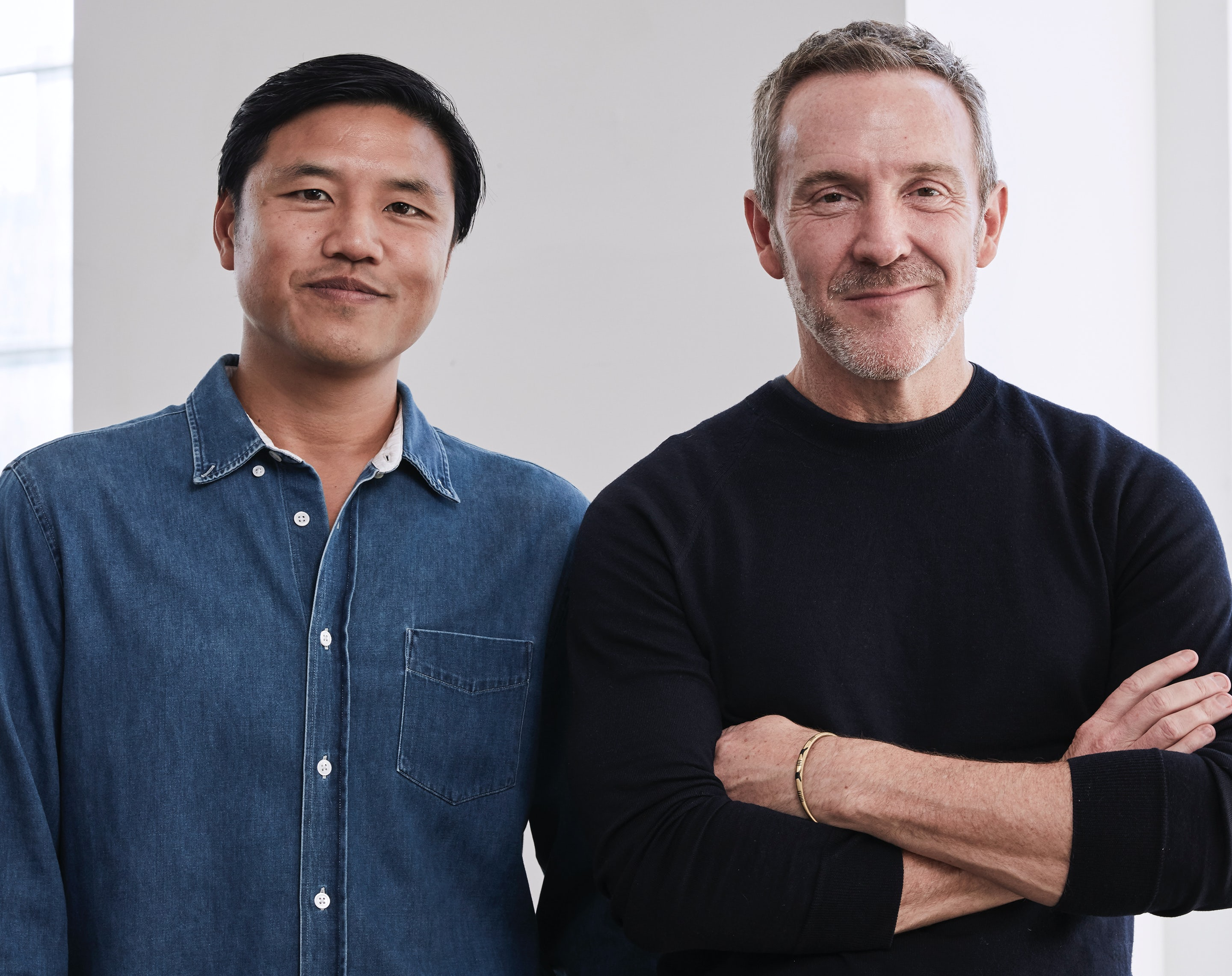 Laird & Partners CEO Patrick Yee and company founder Trey Laird | Source: Courtesy