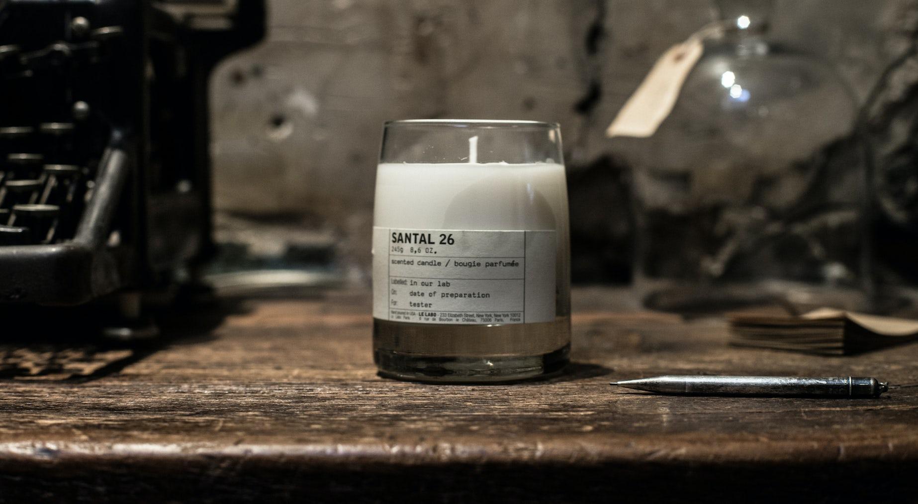 Le Labo's Santal 26 candle | Source: Courtesy