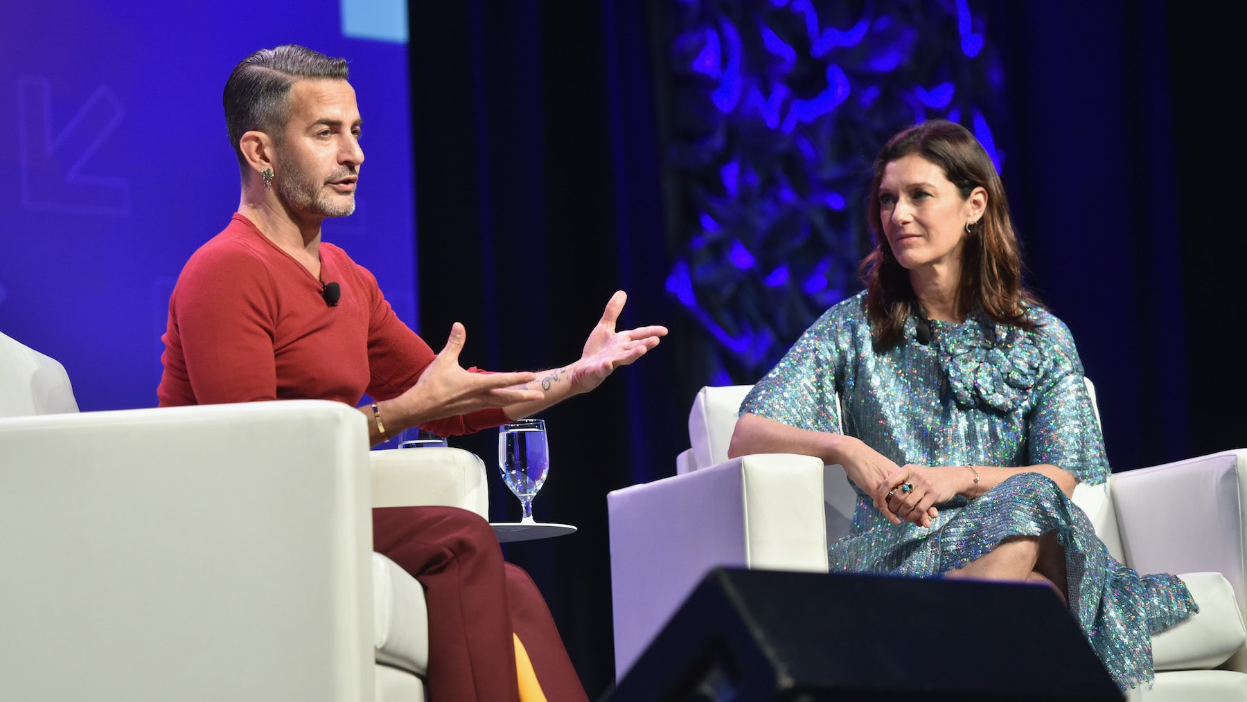 Marc Jacobs in conversation with Sally Singer at SXSW 2017 | Source: Getty Images