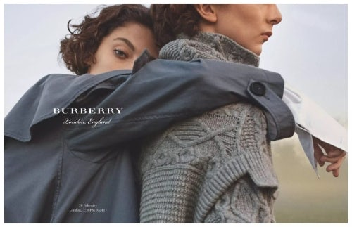 Burberry campaign | Source: Courtesy
