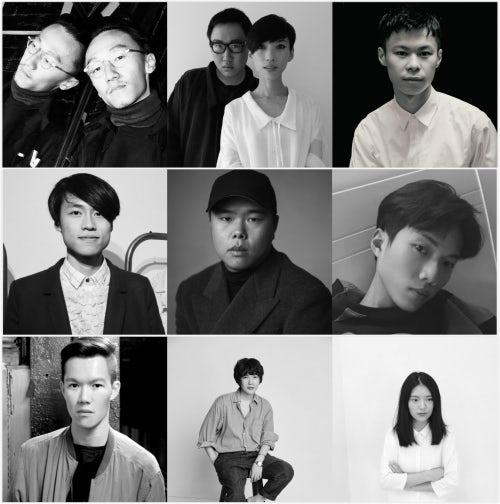 Ximon Lee、DANSHAN、Minki、Ka Wa Key、Yang Li、Boy Vending Machine、Joanthan Lian、pushBUTTON、Andrea Jiapei Li   图片来源:对方提供