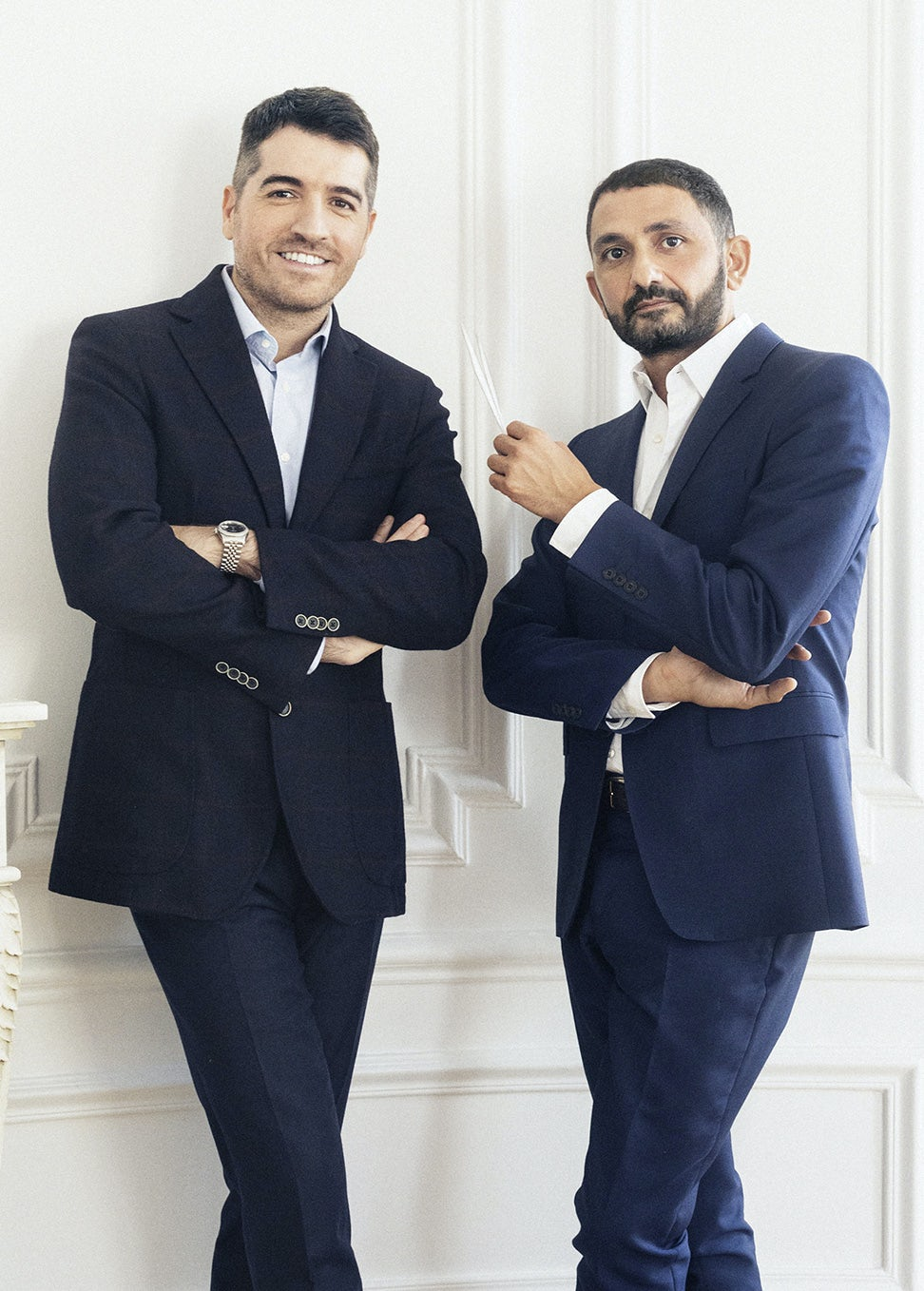 Marc Chaya and Francis Kurkdjian | Photo: Nathalie Baetens