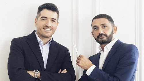 Marc Chaya and Francis Kurkdjian, co-founders of Maison Francis Kurkdjian | Photo: Nathalie Baetens