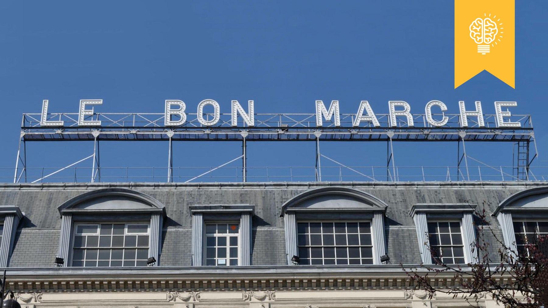 Le Bon Marché in Paris | Source: Flickr/Phil Beard