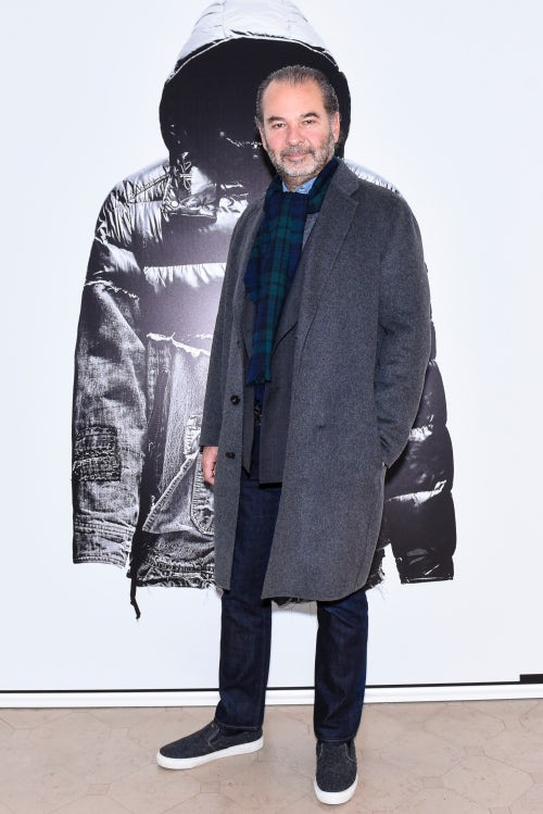 Remo Ruffini at a Moncler Event