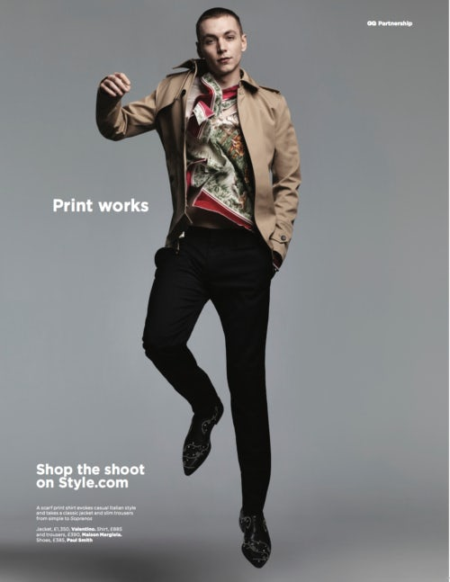 Style.com latest campaign that will feature in GQ