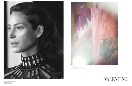 Valentino Spring/Summer 2017 campaign | Source; Courtesy
