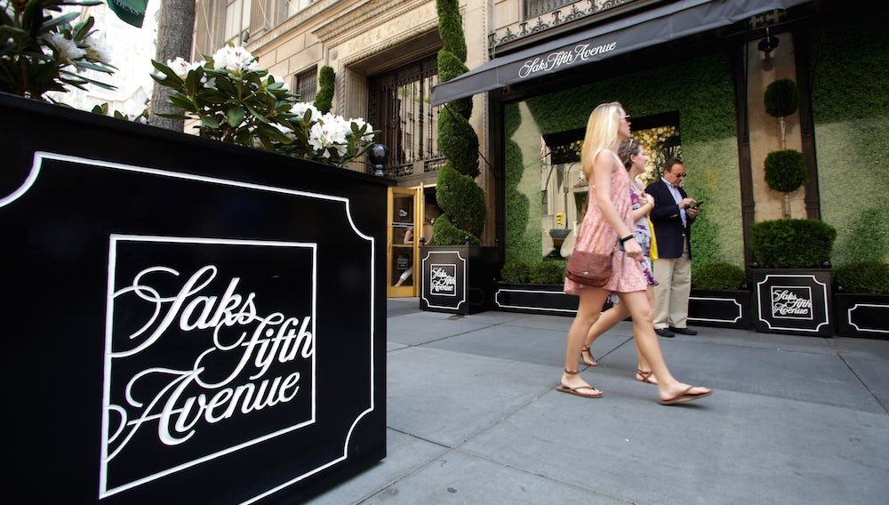 Saks Fifth Avenue | Source: Shutterstock
