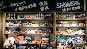 A Lush store in Hong Kong | Source: Shutterstock