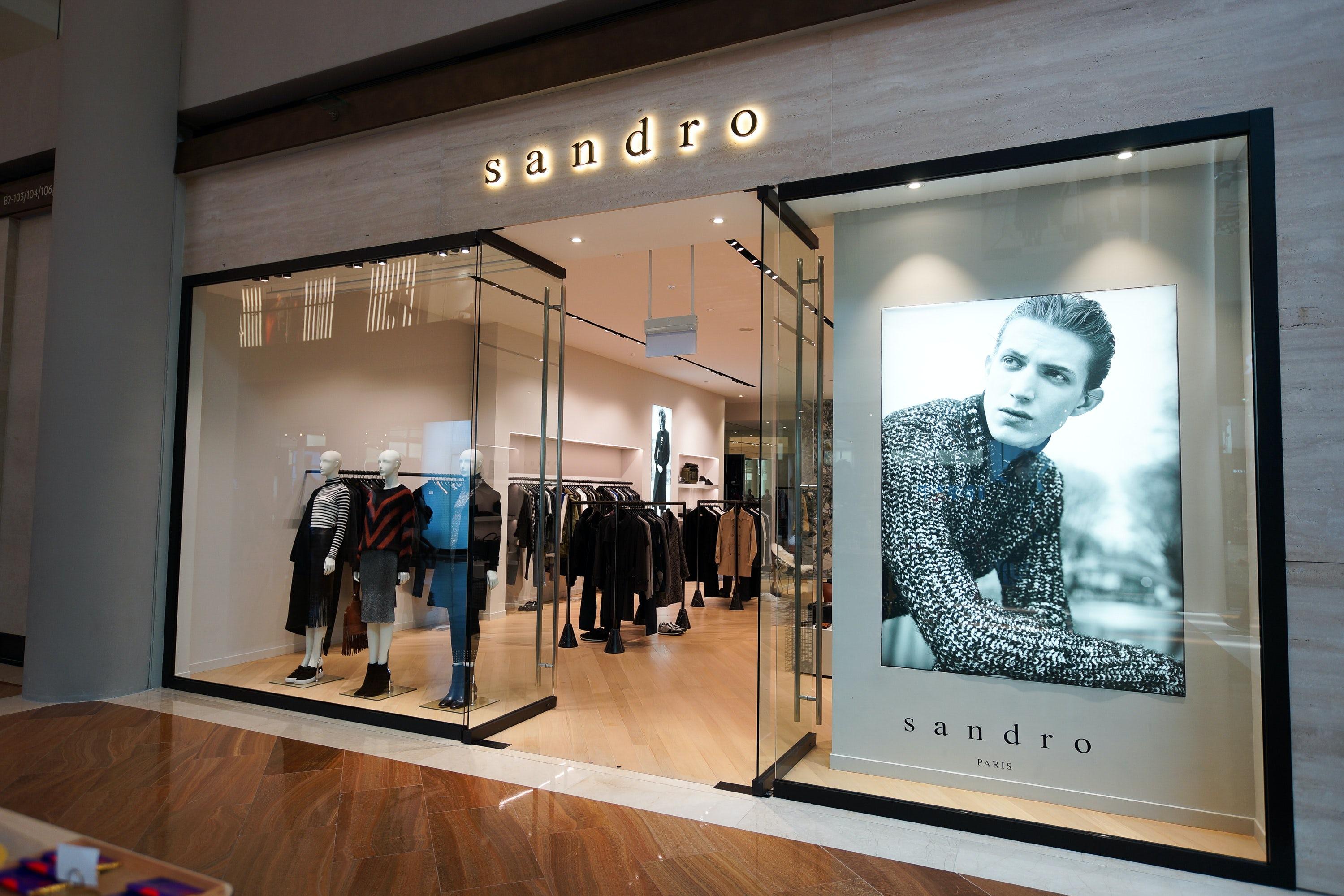 A Sandro store | Source: Shutterstock