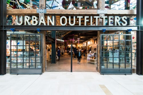 An Urban Outfitters store
