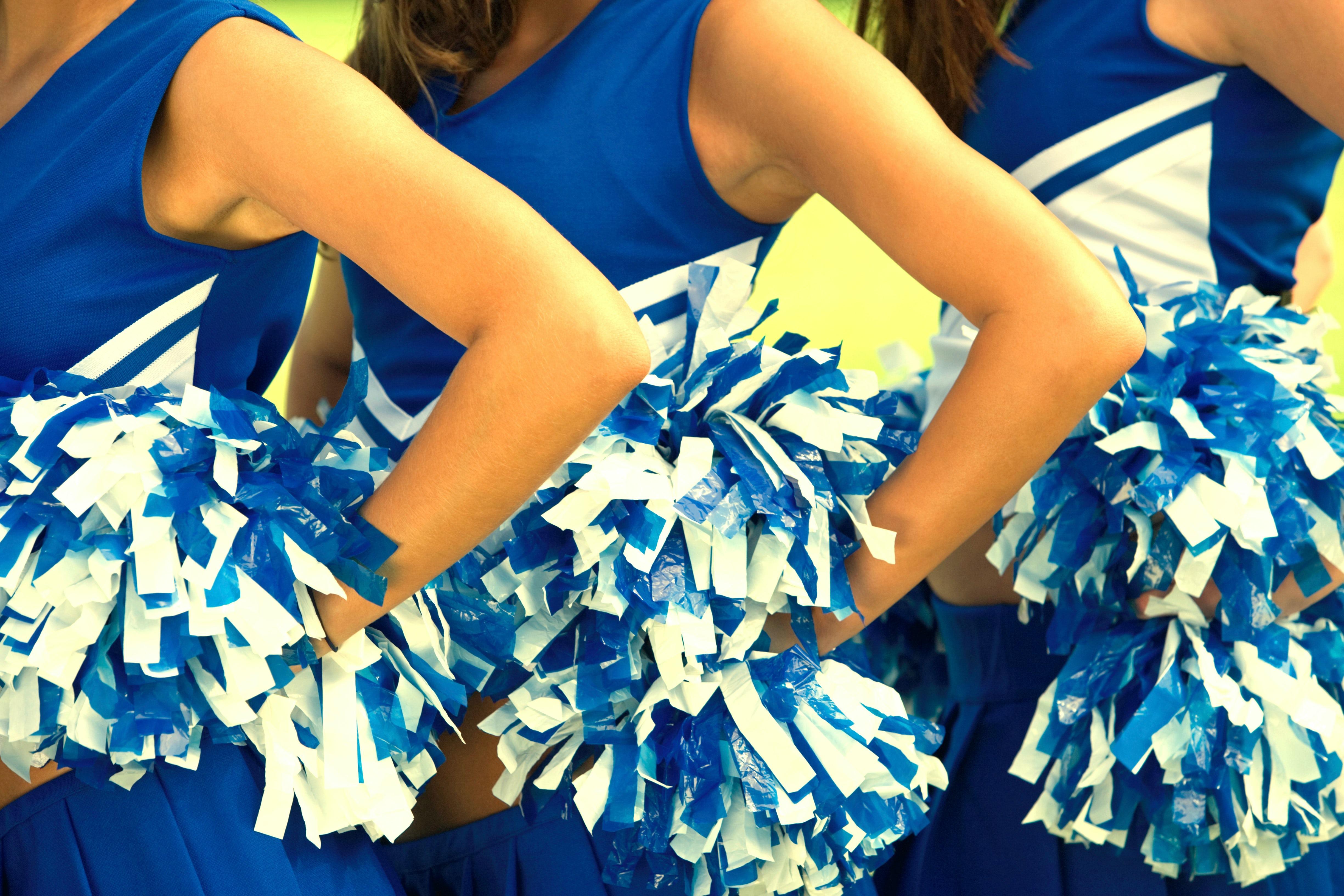 Cheerleaders' uniforms | Source: Shutterstock