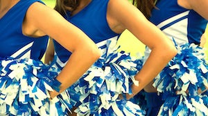 Cheerleaders' uniforms | Source: Shutterstock