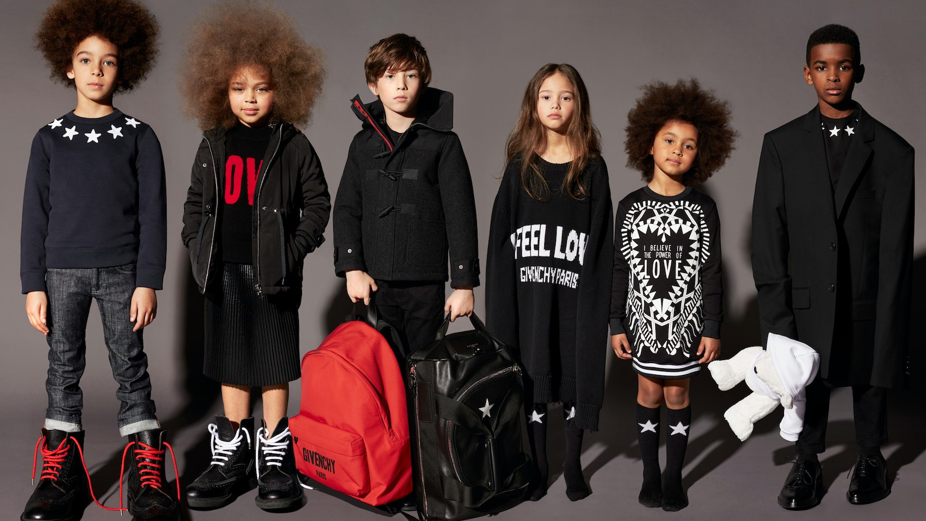 Givenchy childrenswear Autumn/Winter 2017 | Source: Courtesy