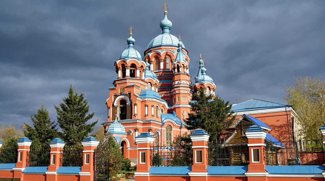 The Siberian city of Irkutsk, Russia   Source: Shutterstock