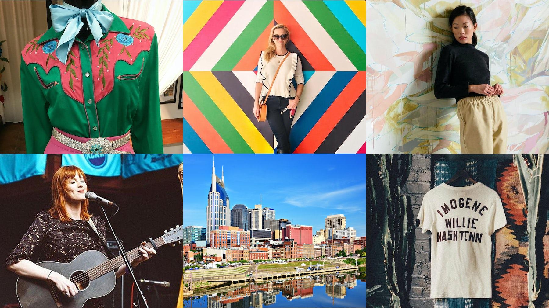 Source: [Clockwise from top left] Instagram/@manuelcouture, @reesewitherspoon, @elizsuzann, @misskarenelson, Shutterstock, Instagram/@imogeneandwillie