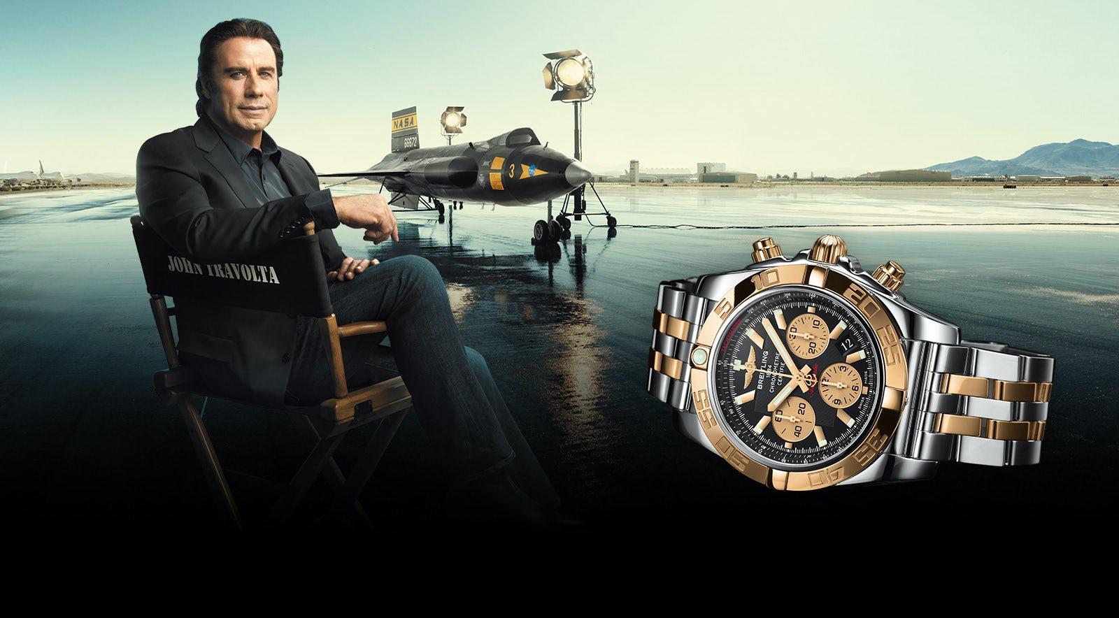 John Travolta in Breitling campaign   Source: Courtesy
