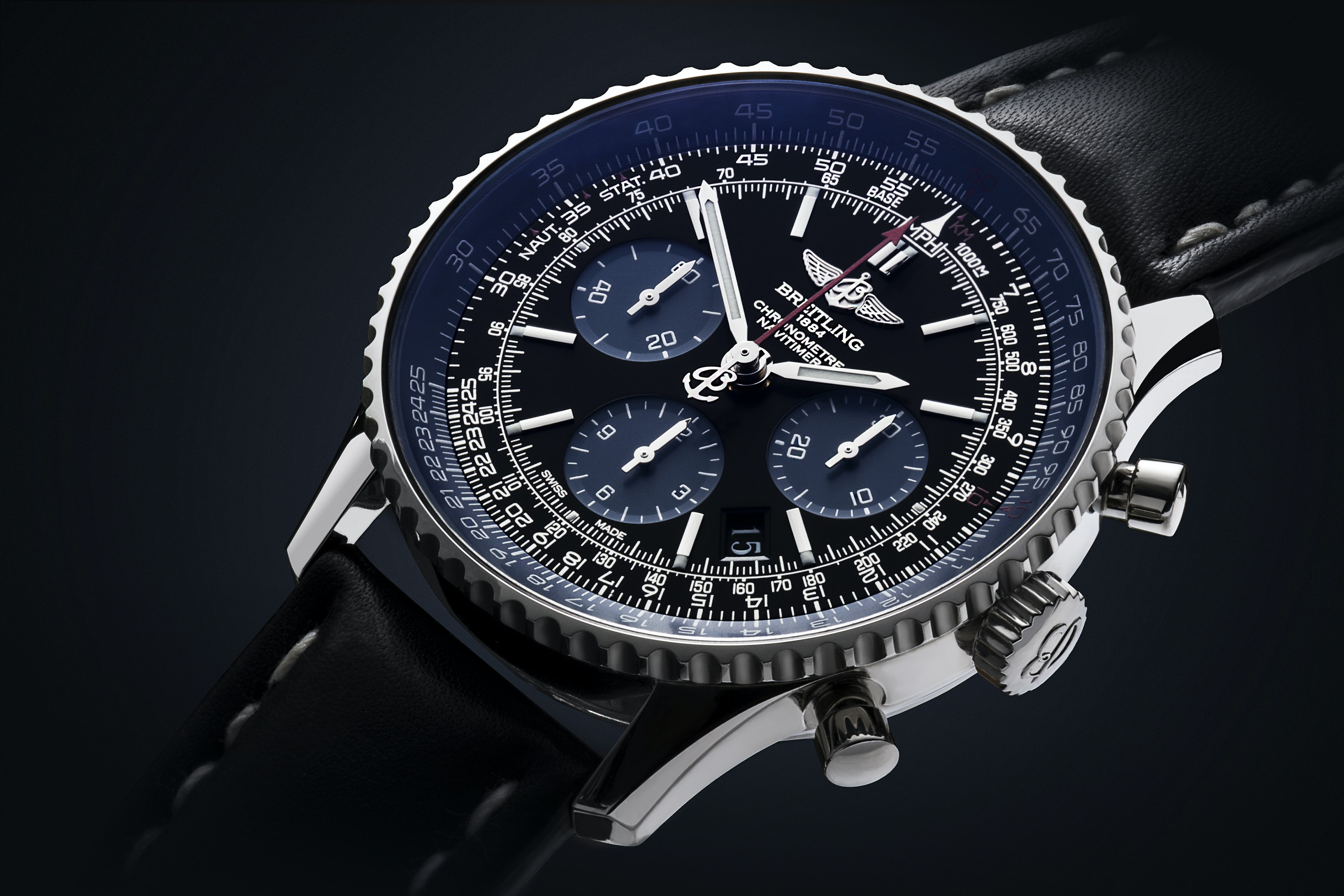 The Breitling Navitimer watch | Source: Shutterstock