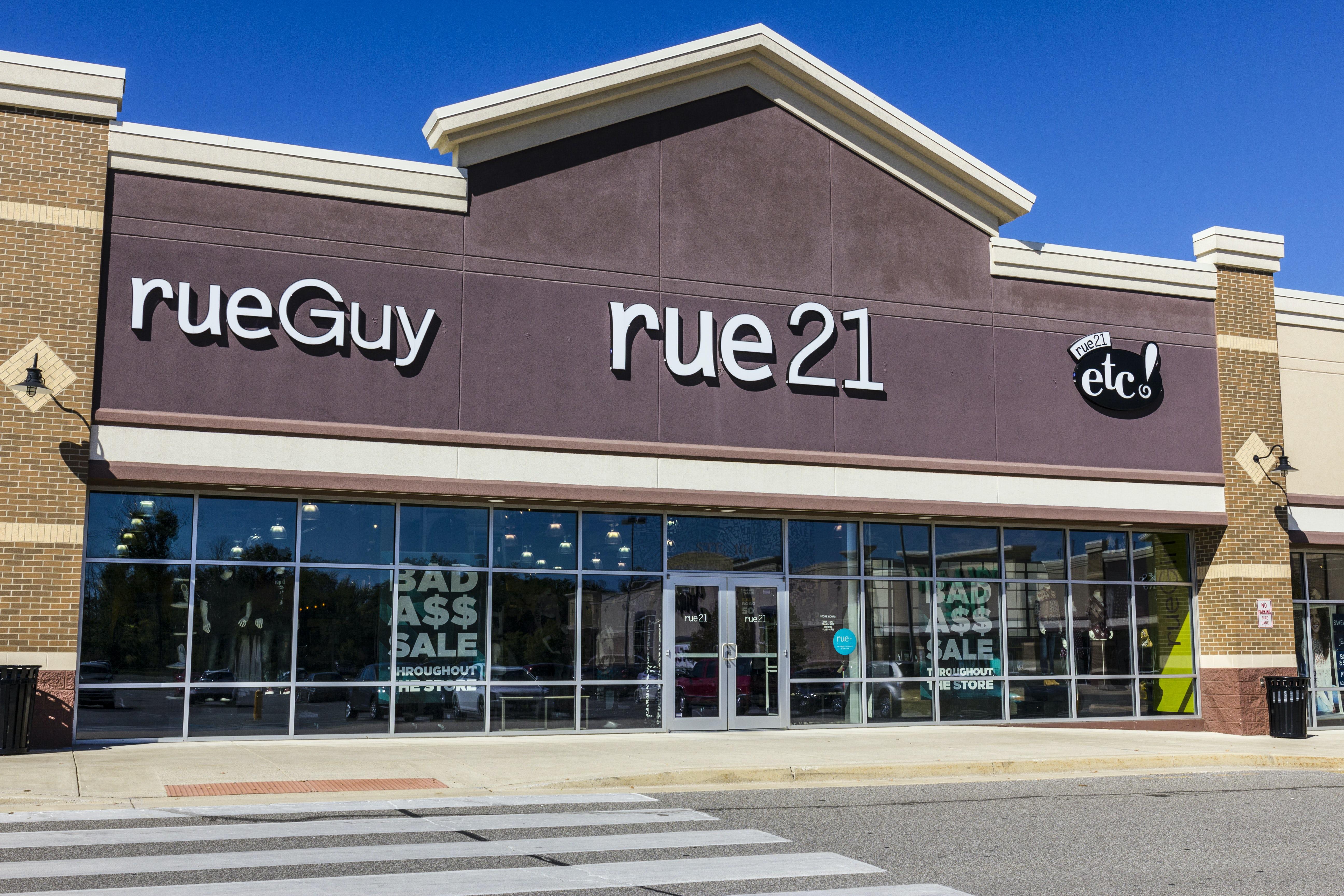 A Rue 21 store | Source: Shutterstock