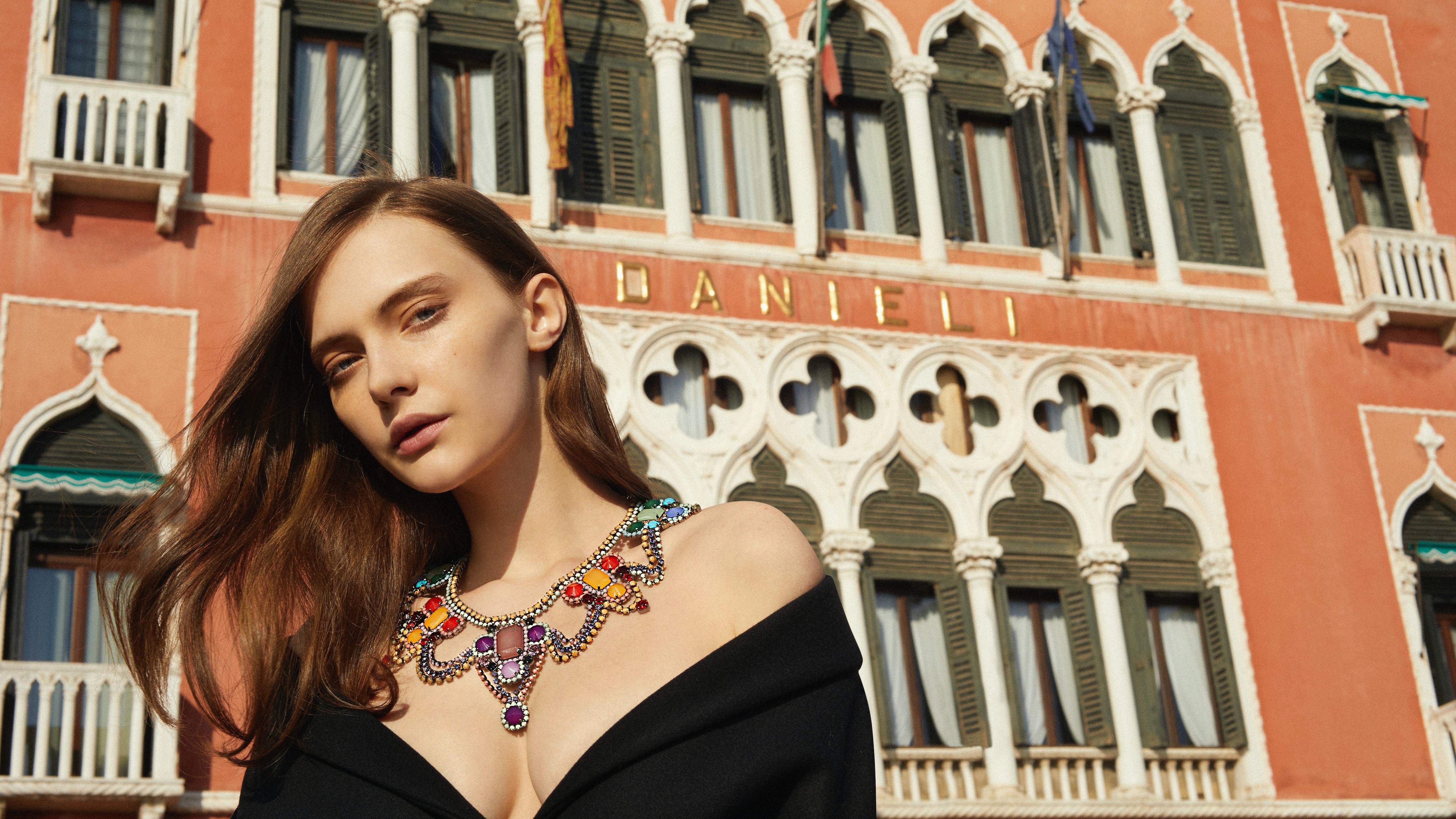 An image from a Moda Operandi fine jewellery look book | Source: Courtesy