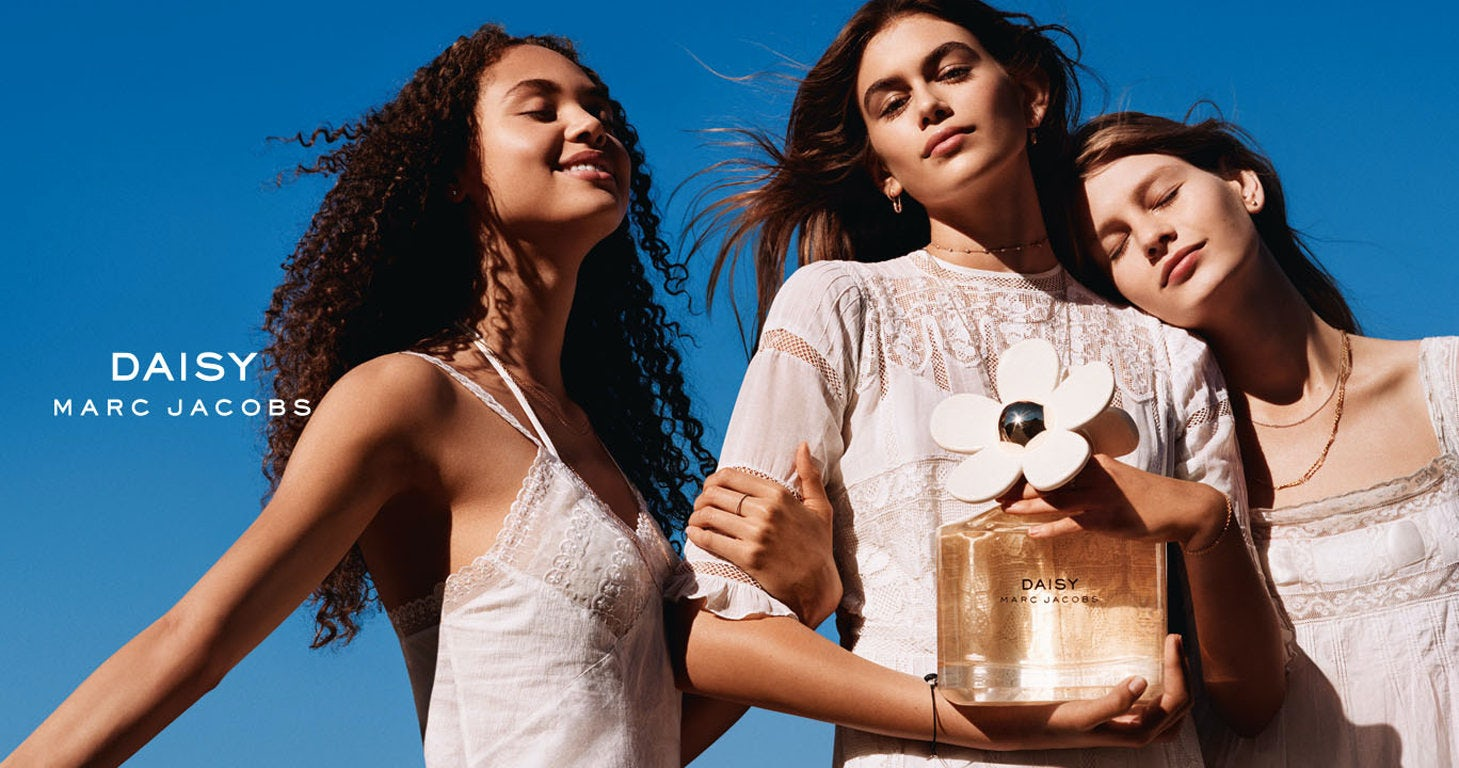 Model Kaia Gerber for  Marc Jacobs Fragrances, a division of Coty Inc | Source: Courtesy