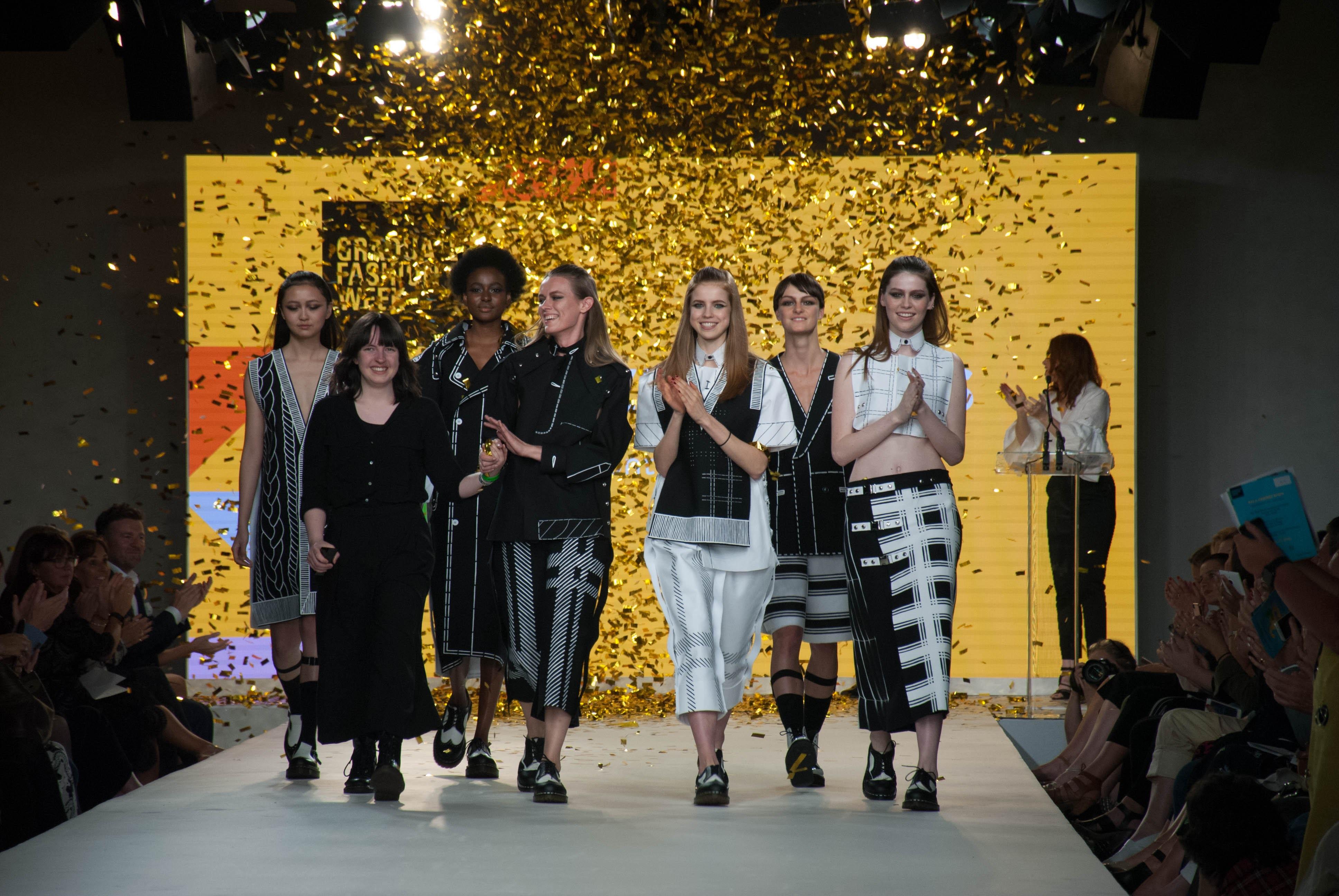 2016 Graduate Fashion Week Gala Show Winner Taine King |  Source: Courtesy