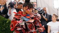 Rihanna at the Met Gala in Comme des Garçons | Source: Taylor Hill/FilmMagic