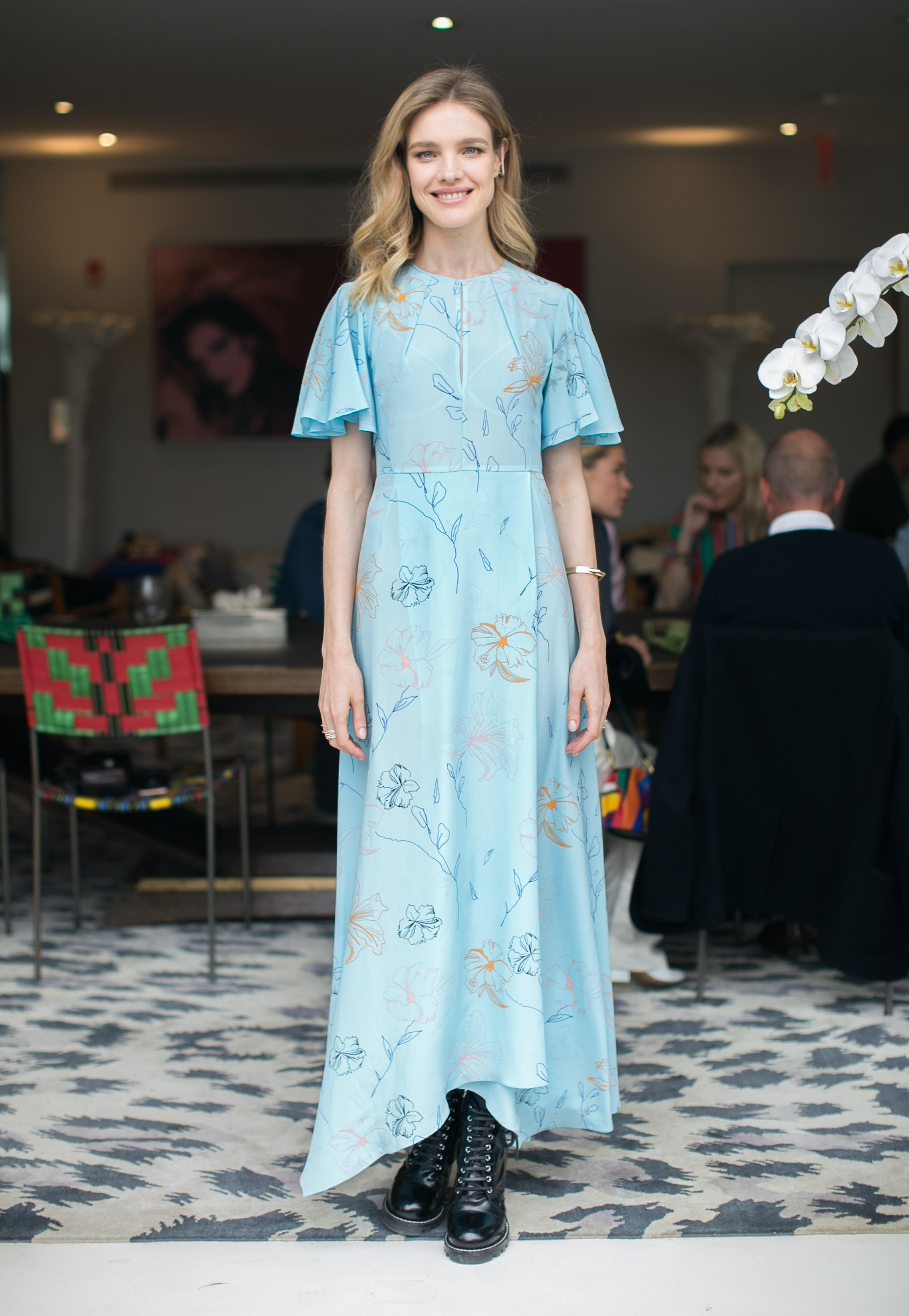 Natalia Vodianova at a brunch hosted by Diane von Furstenberg | Source: Sam Deitch for BFA