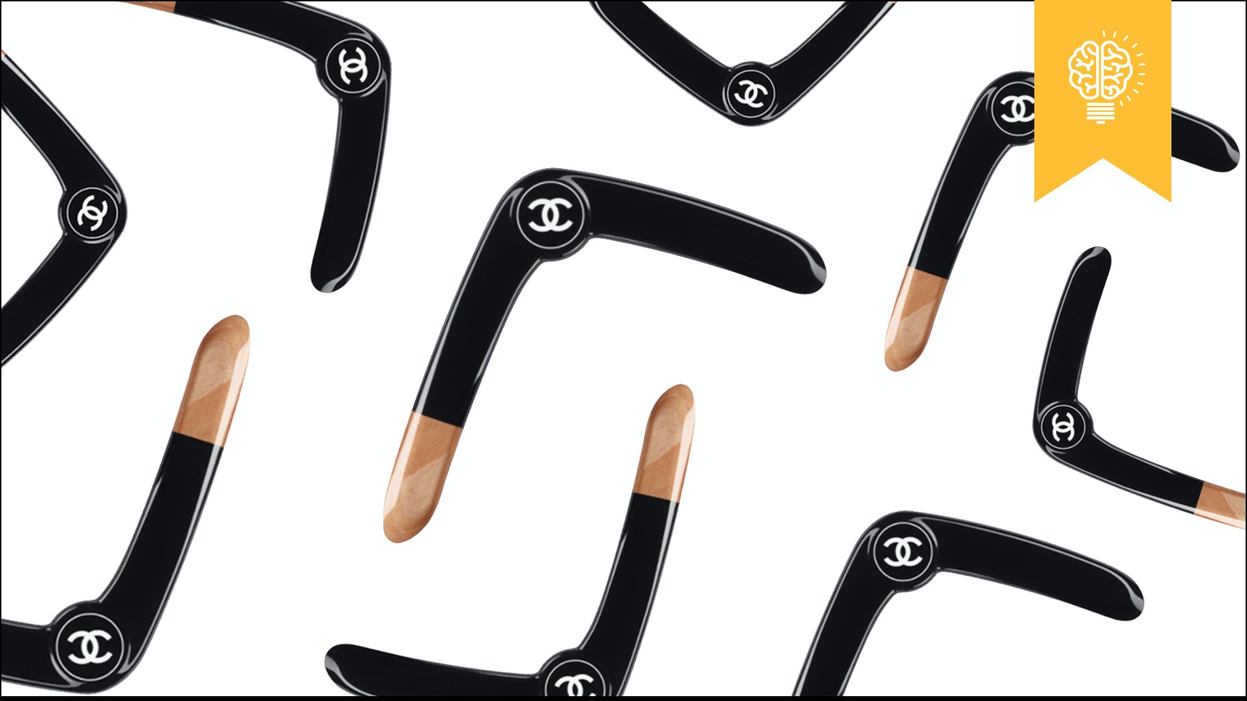 Chanel's Boomerang | Source: Courtesy
