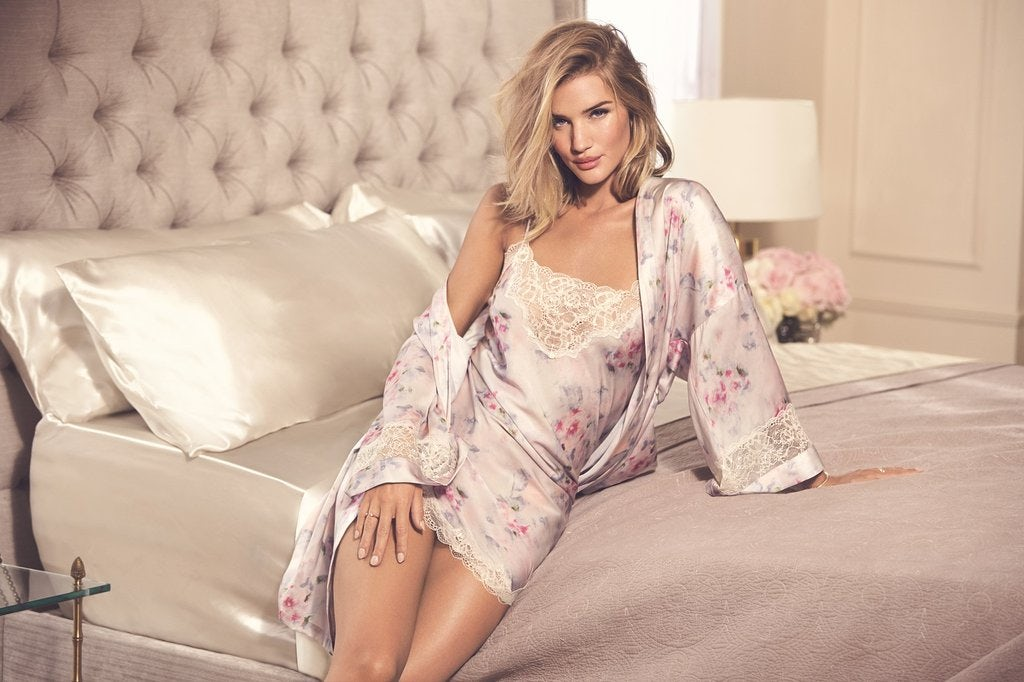 Rosie Huntington-Whiteley for Marks and Spencer lingerie | Source: Courtesy