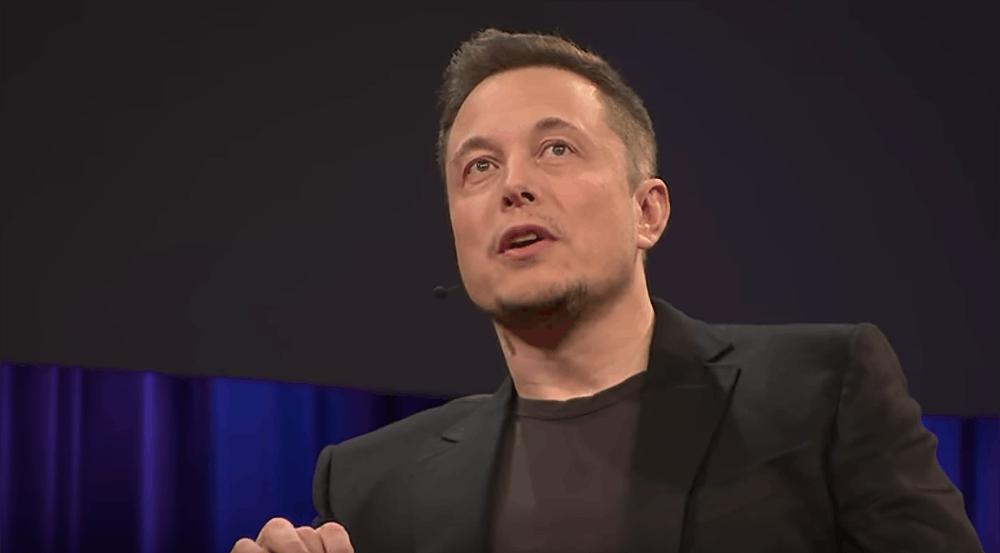 Elon Musk | Source: Screenshot of Elon Musk's Ted Talk 2017