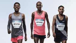 Three of the world's fastest athletes will test Nike's new high-tech running shoes   Source: Courtesy