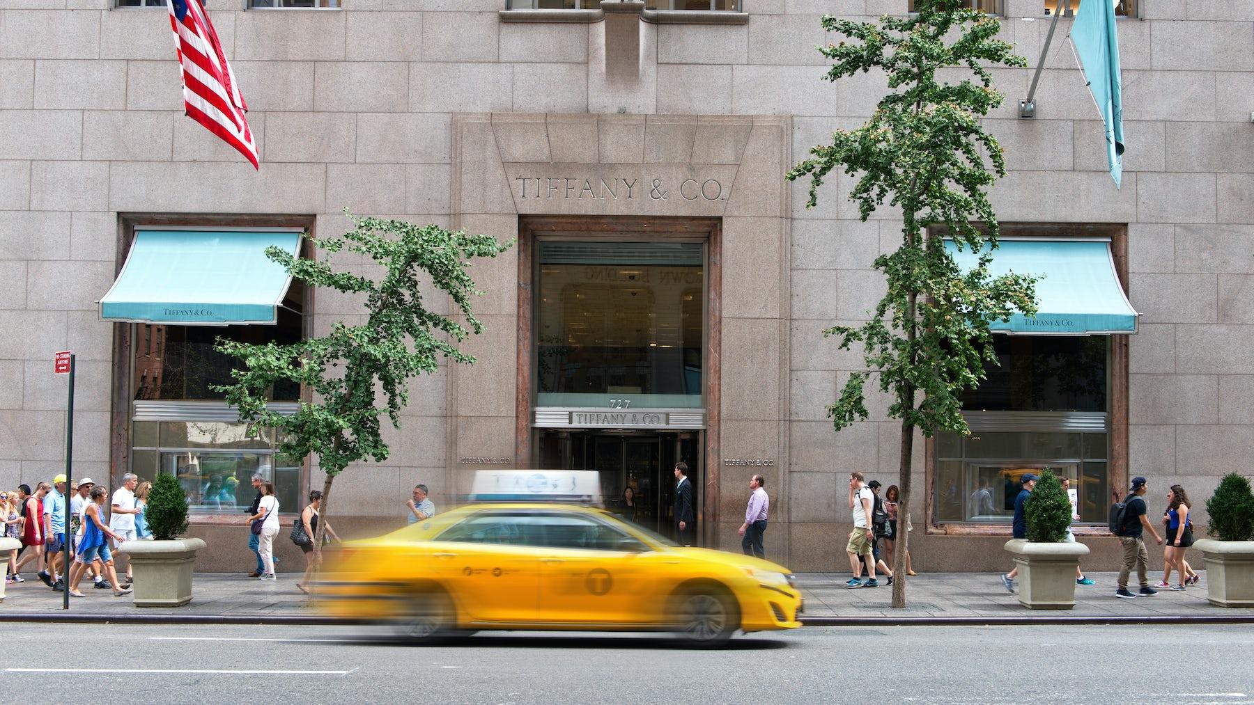 Tiffany & Co. Fifth Avenue Store | Source: Shutterstock