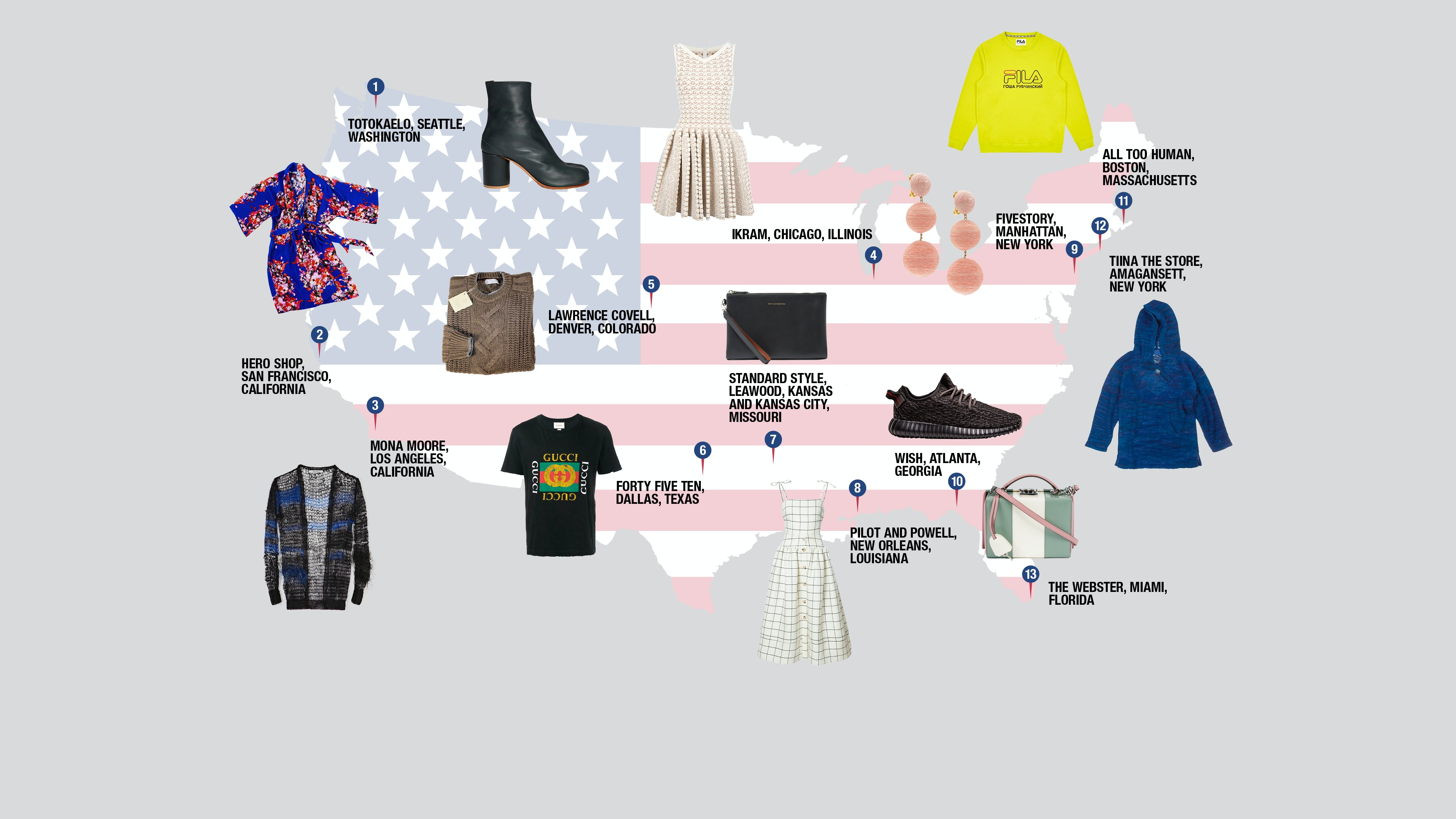 The Independent Boutiques Outfitting America