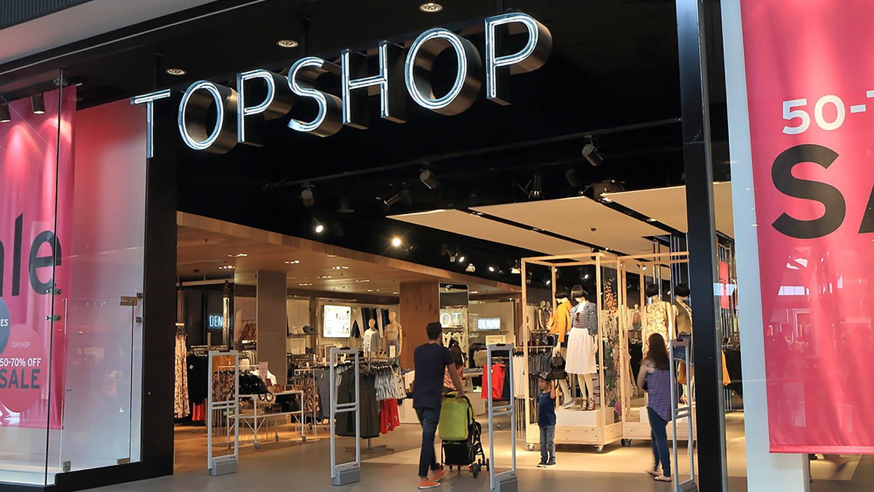 Topshop store in Melbourne, Australia | Source: Shutterstock