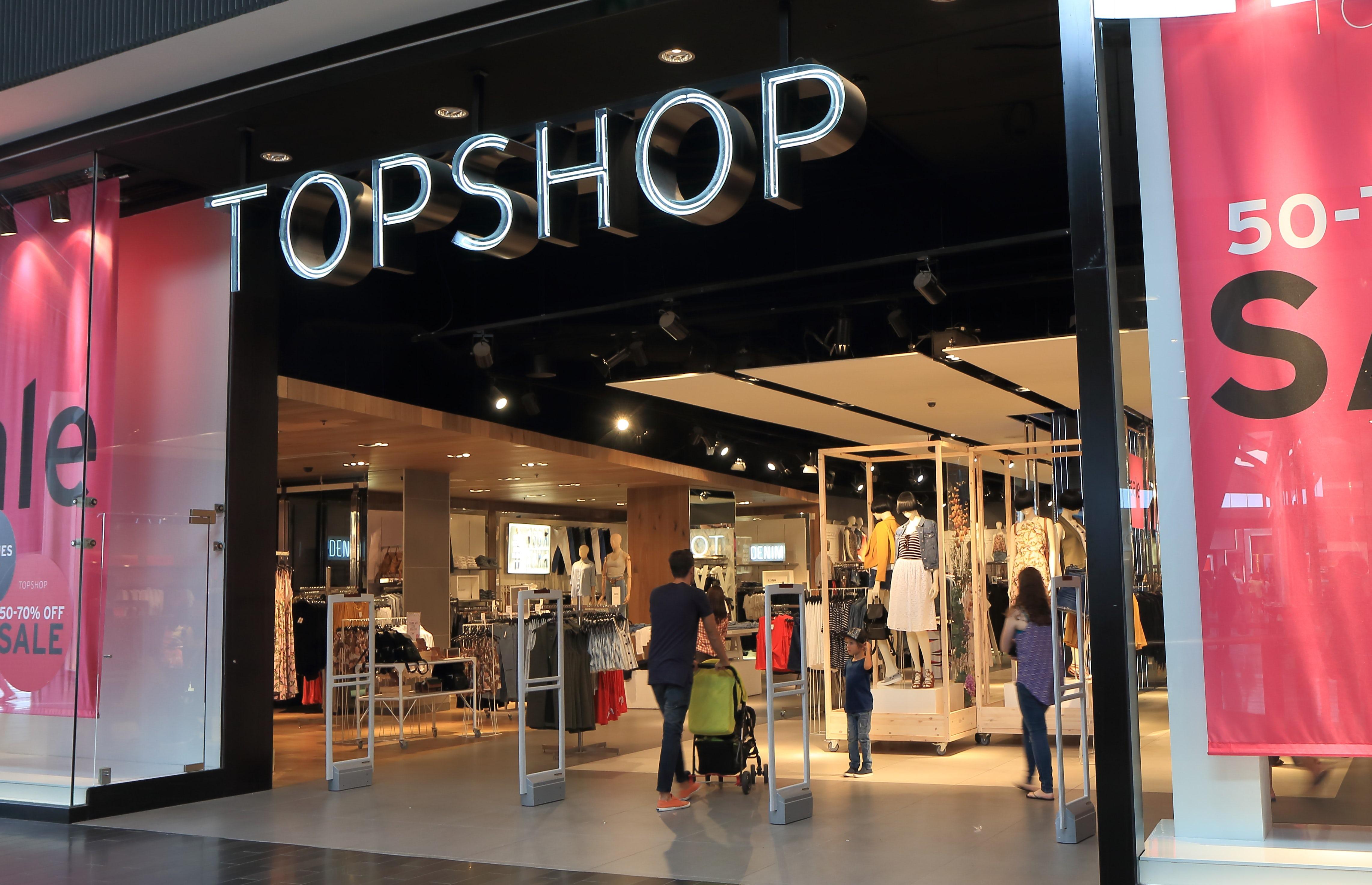 A Topshop store | Source: Shutterstock