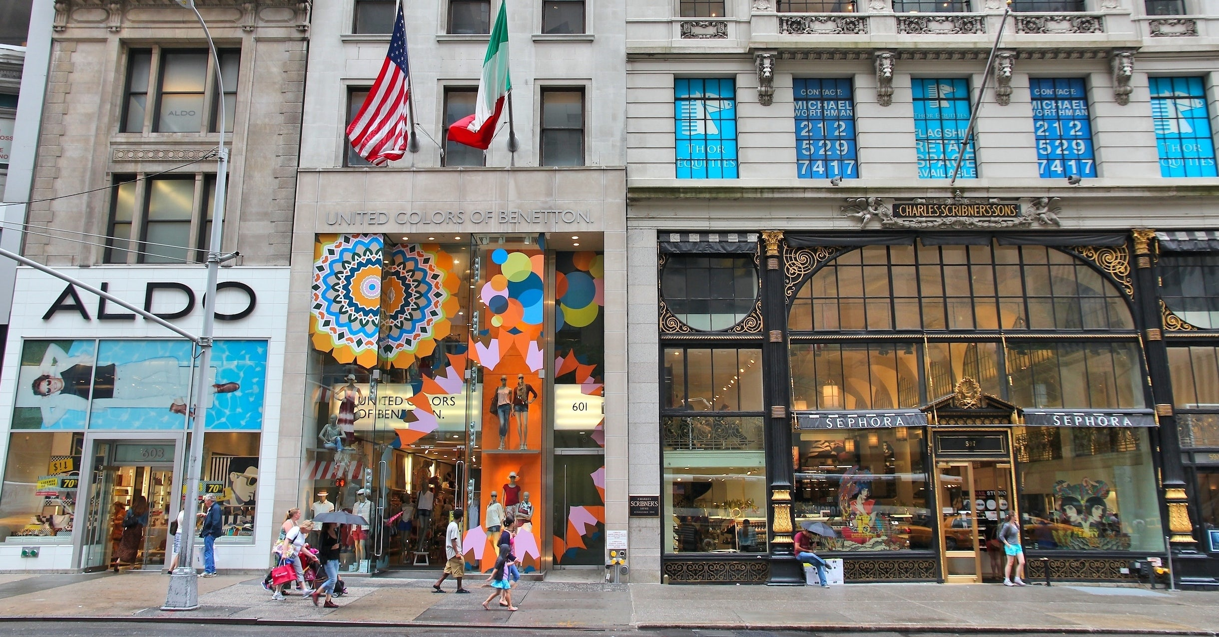 The Scribner's Building on Fifth Avenue | Source: Shutterstock