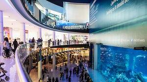 The aquarium at The Dubai Mall | Source: Shutterstock
