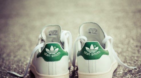purchase cheap 36f96 ac5a9 Adidas Stan Smith sneakers   Source  Shutterstock