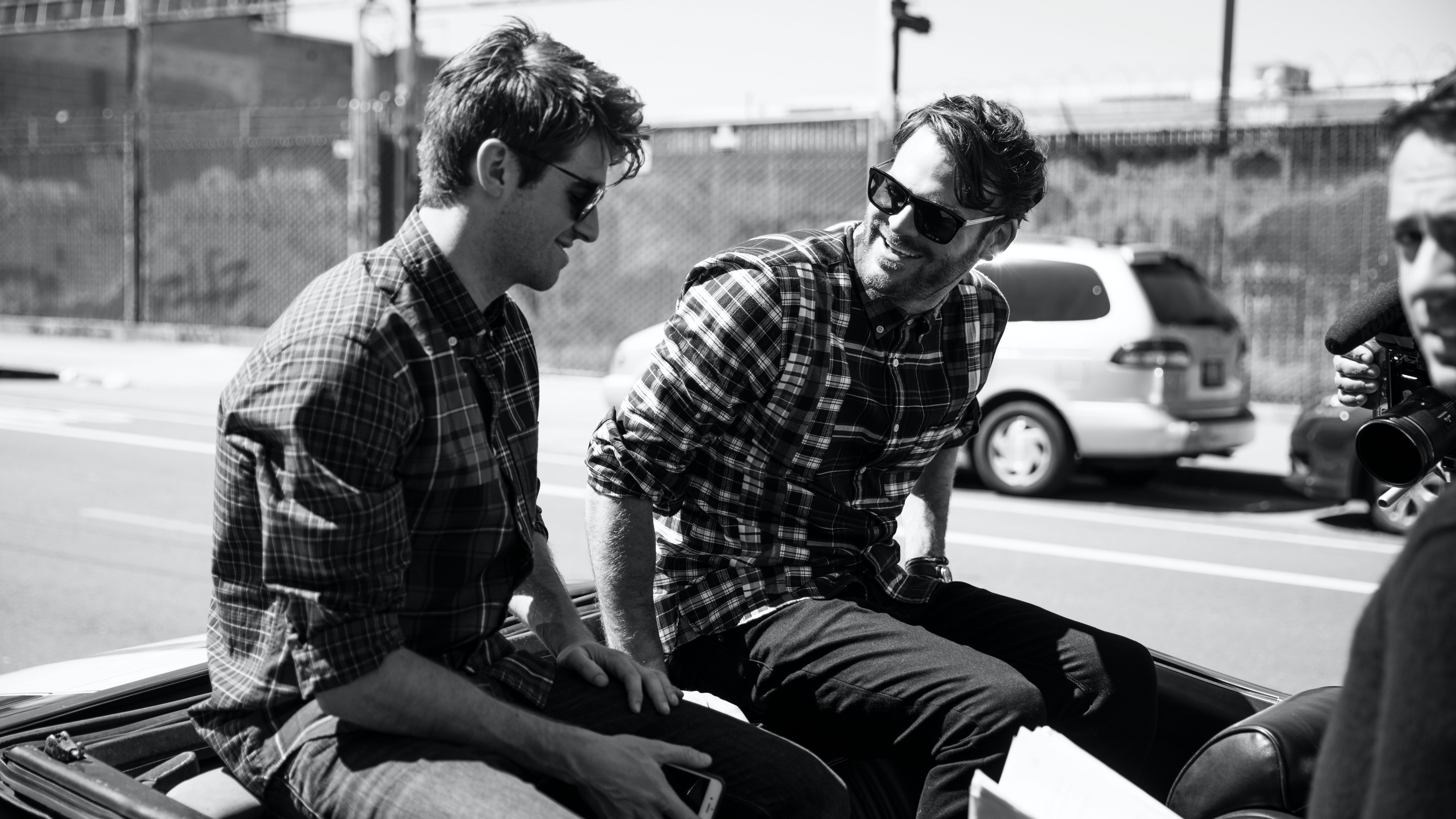 Drew Taggart and Alex Pall of The Chainsmokers | Source: Tommy Hilfiger