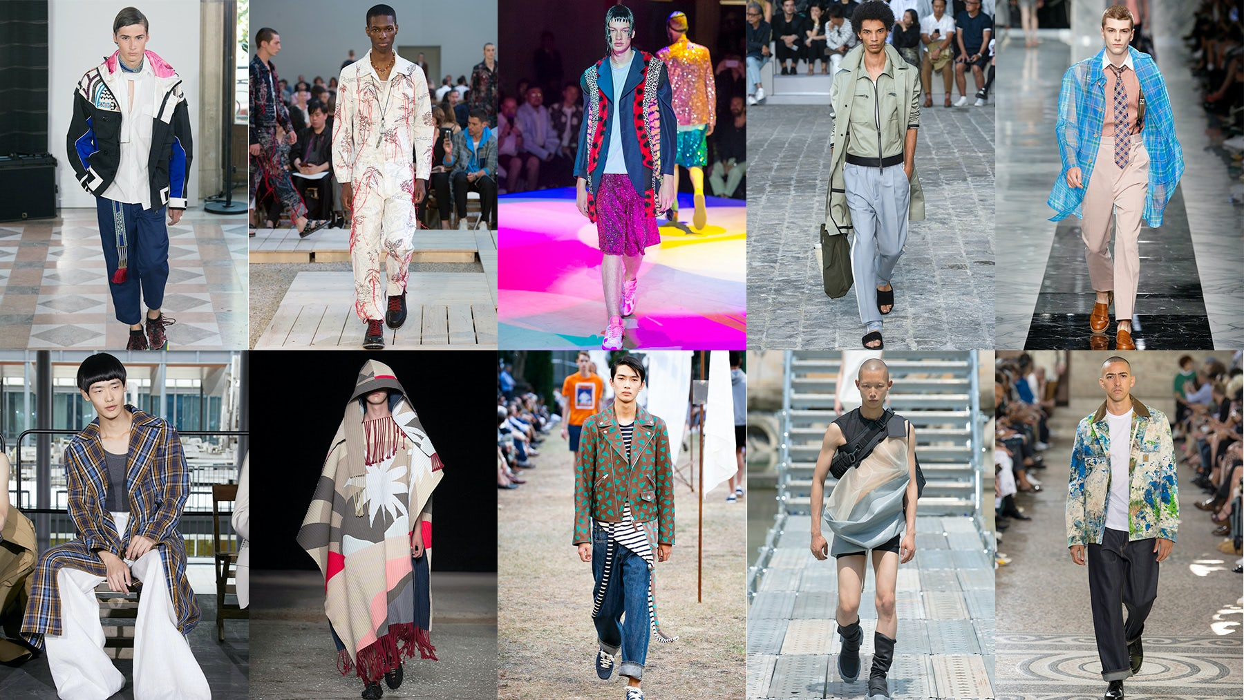 Top 10 Menswear Shows for Spring/Summer 2018