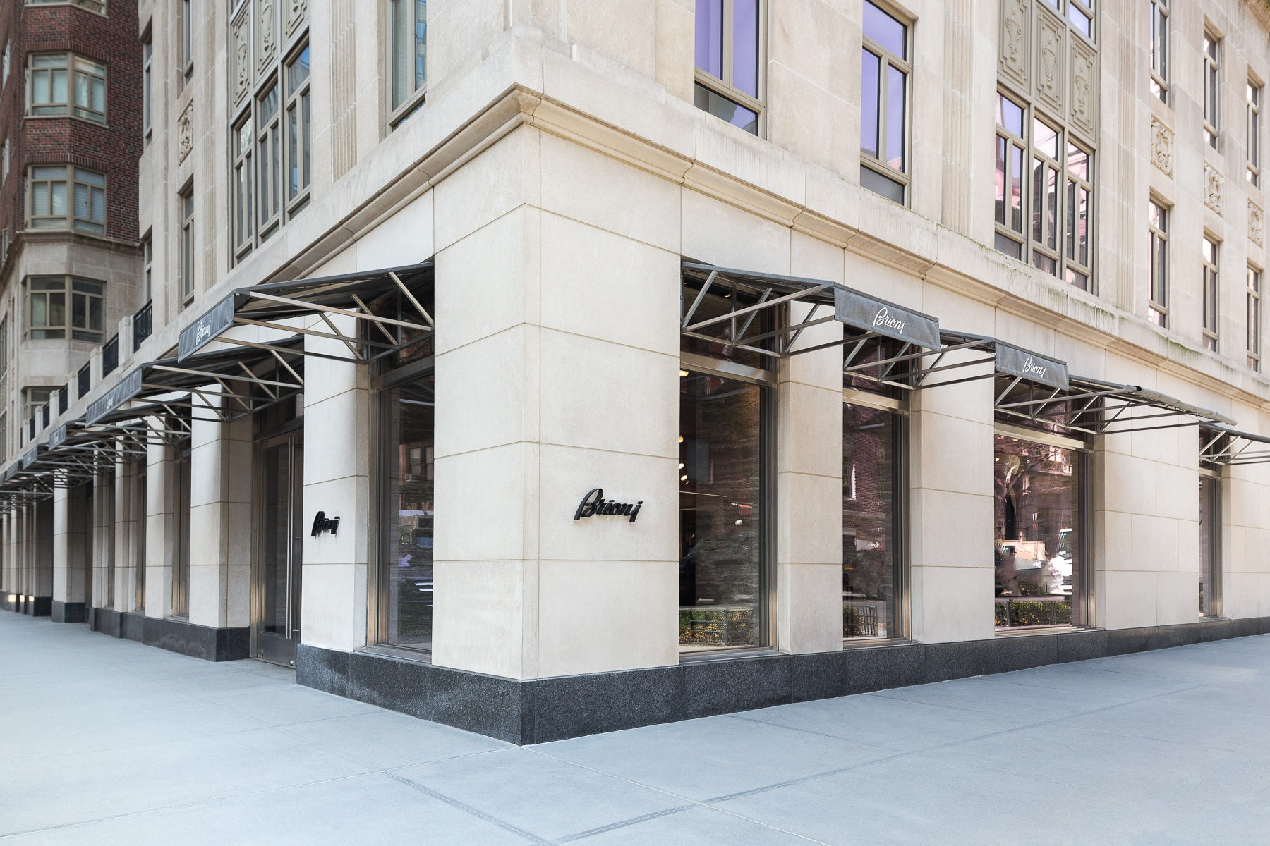Brioni's flagship store in New York   Source: Courtesy