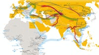 "Planned and completed ""Belt and Road"" infrastructure projects 