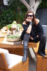 Donna Karan at her Urban Zen store in LA | Source: Courtesy