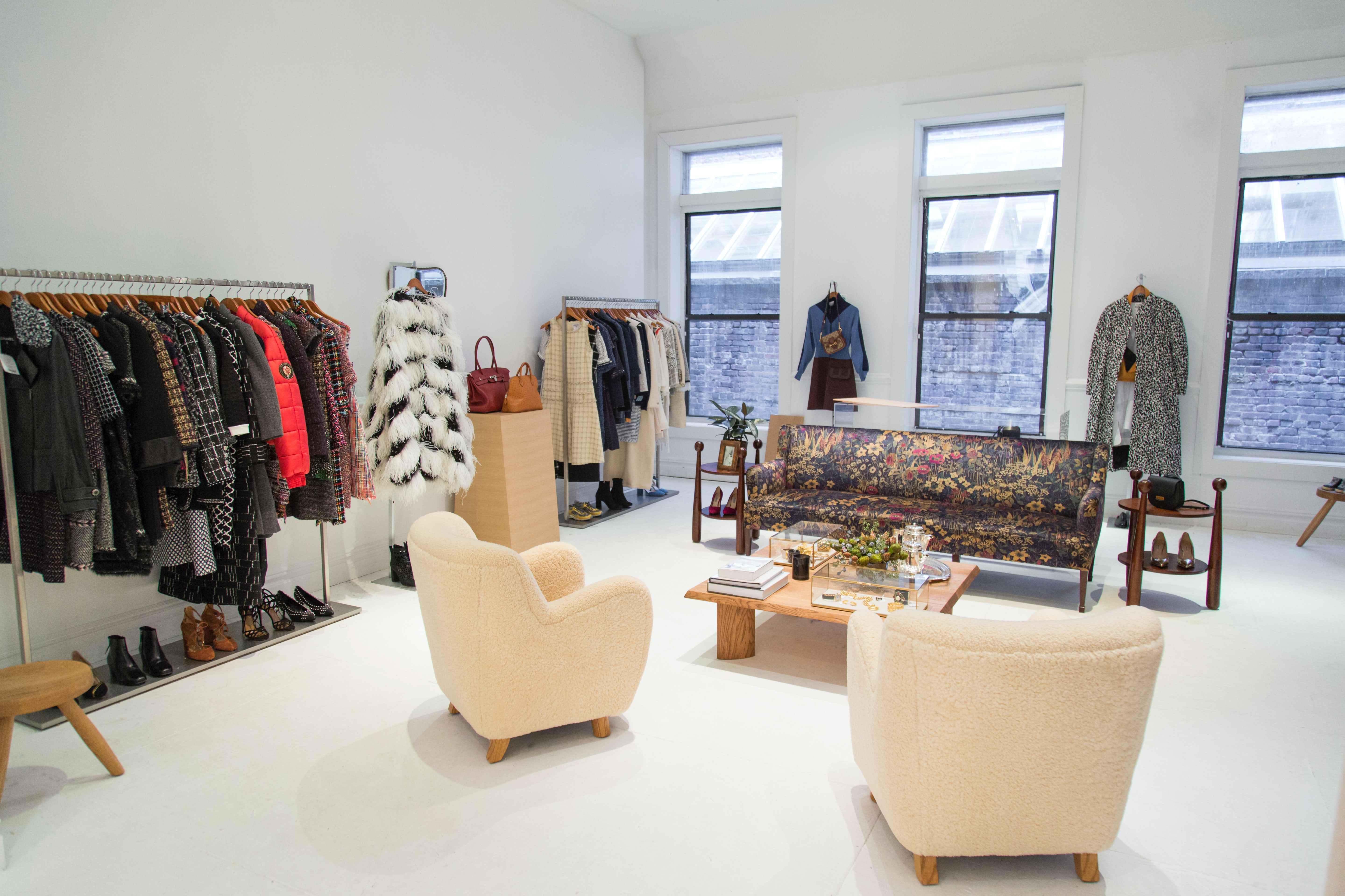 The RealReal's New York City pop-up | Source: Courtesy